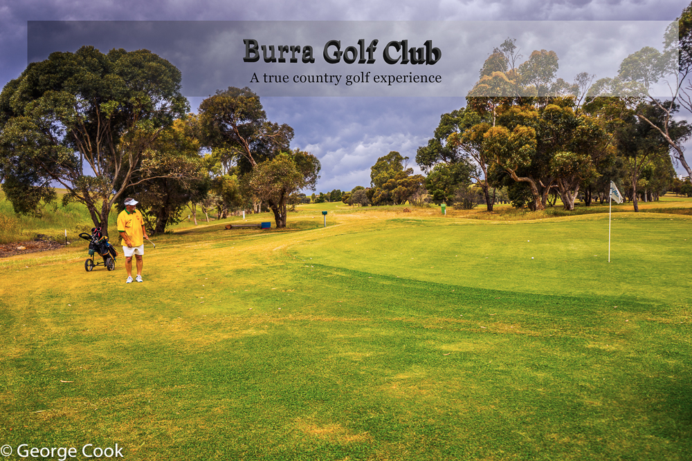 Burra Golf Club - a true country experience